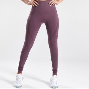 Gymshark seamless high waisted leggings lavender